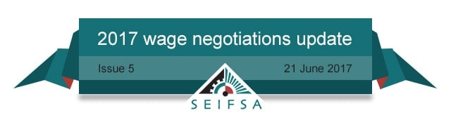 SEIFSA Wage Negotiations Content - Issue 05