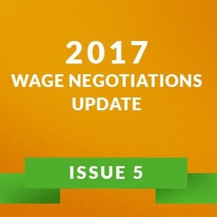 Wage Negotiation Update Issue 4