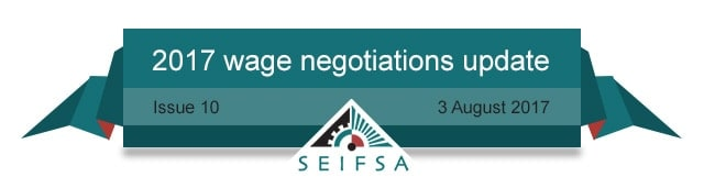 SEIFSA Wage Negotiations Content - Issue 10