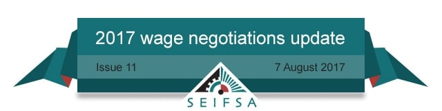 SEIFSA Wage Negotiations Content - Issue 11