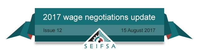 SEIFSA Wage Negotiations Content - Issue 12
