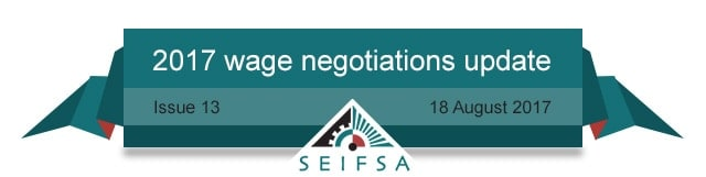 SEIFSA Wage Negotiations Content - Issue 13