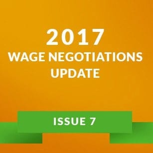 Wage Negotiation 2017 - Issue 7