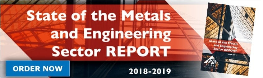 METALS AND ENGINEERING SECTOR EXPECTED TO RECORD A SECOND CONSECUTIVE YEAR OF GROWTH IN 2018