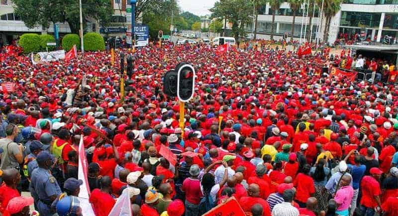 NUMSA AND THE CALL FOR A NATIONAL SHUTDOWN ON 1 AUGUST 2018