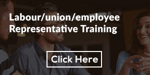 Labour/union/employee Representative Training