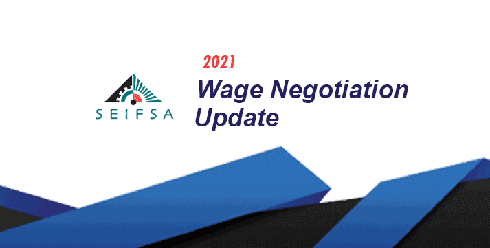 Wage Negotations Update Issue 4